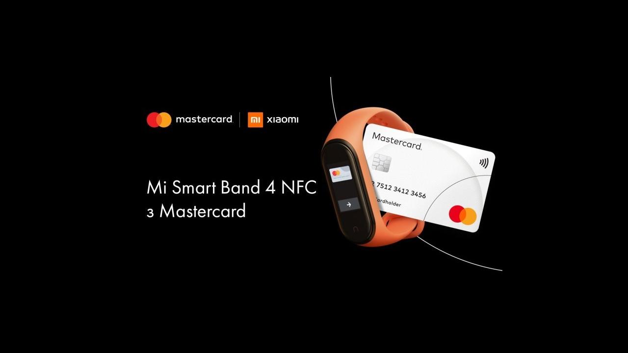 Mi Band 4 s podporou NFC_Europa