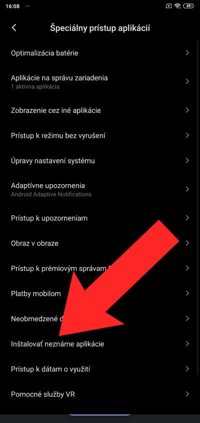 Povolenie instalovania aplikacii tretich stran_1