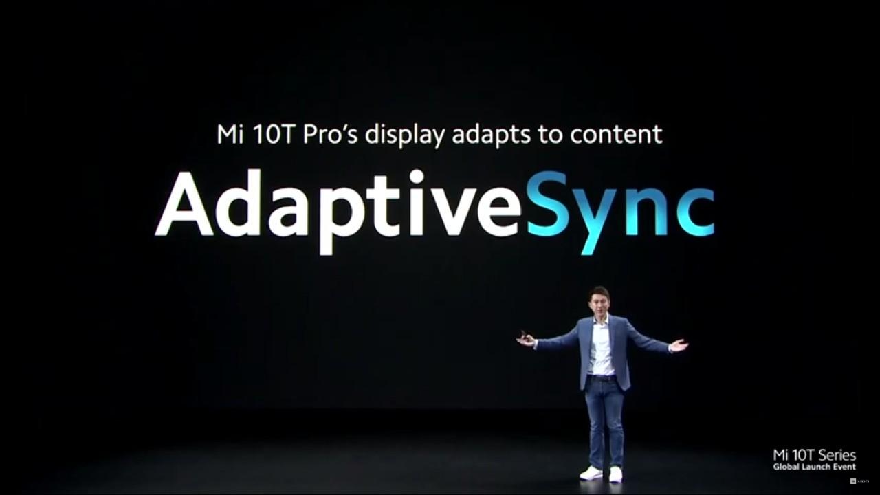 Xiaomi Mi 10T a Mi 10T Pro_AdaptiveSync