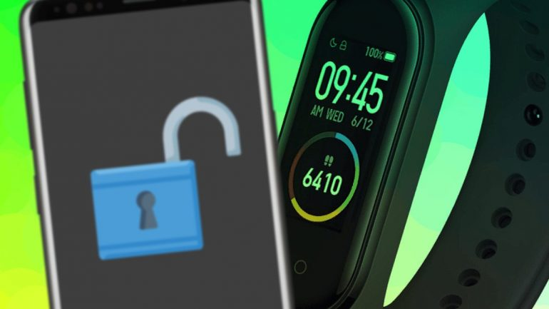 odmknutie smartfonu pomocou fitness naramku a chytrych hodiniek