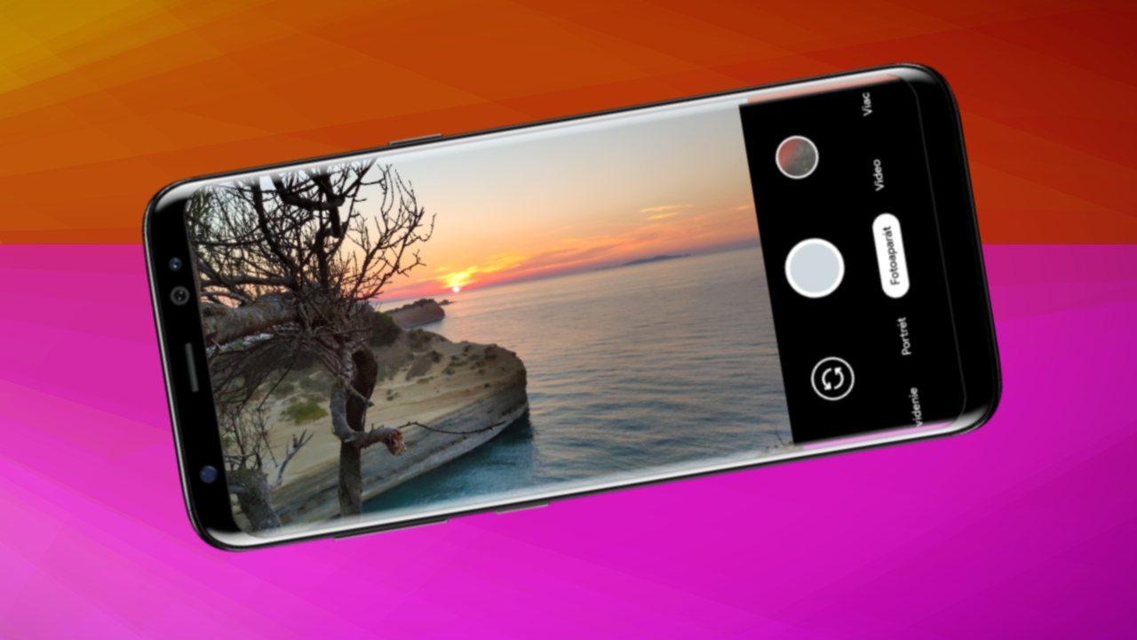 Google Kamera v Xiaomi smartfone_navod