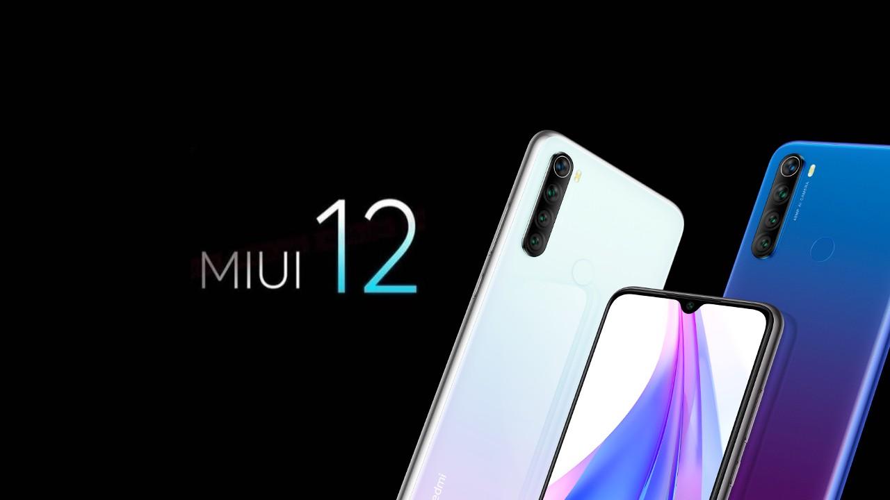 Redmi Note 8T_MIUI 12 aktualizacia