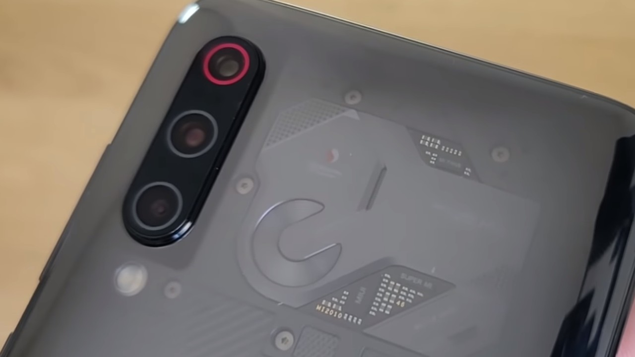 Xiaomi Mi 10 Transparent edition