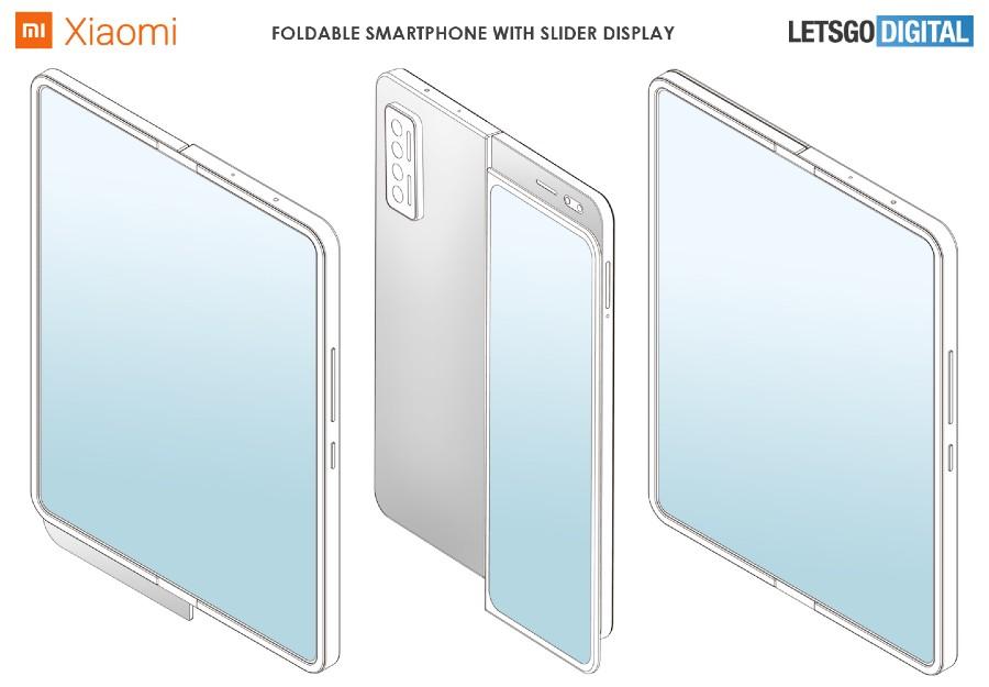 Xiaomi skladatelny smartfon_patent_posuvny displej