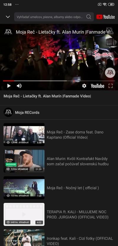 xiaomi redmi prehravanie youtube hudba na pozadi 3