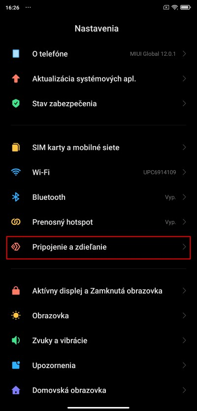 Xiaomi zdielanie obrazovky smartfonu na pocitac_1