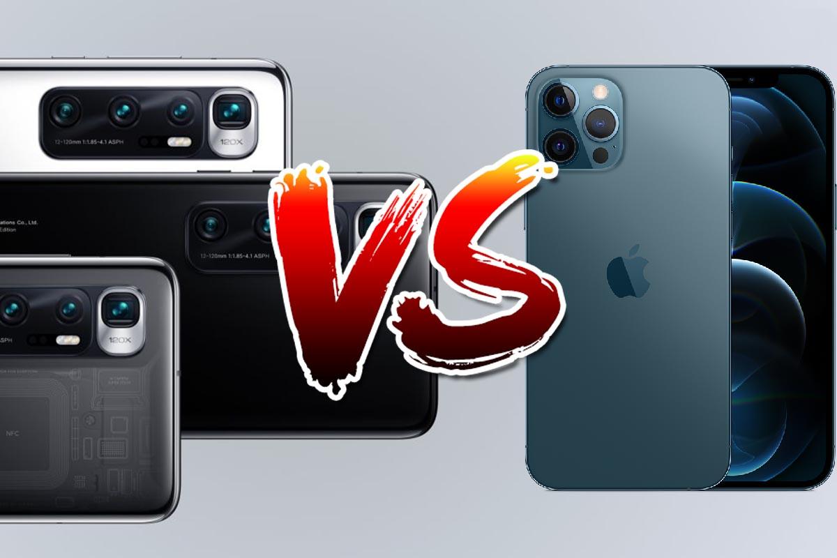 Xiaomi Mi 10 Ultra vs iPhone 12 Pro