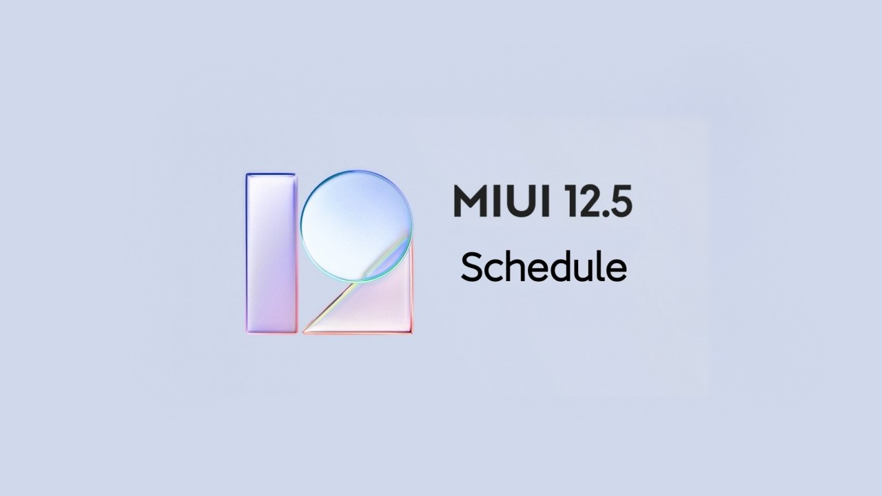 MIUI 12.5 distribucia