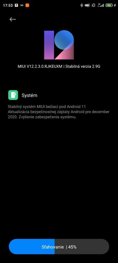 Poco F2 Pro aktualizacia s Androidom 11
