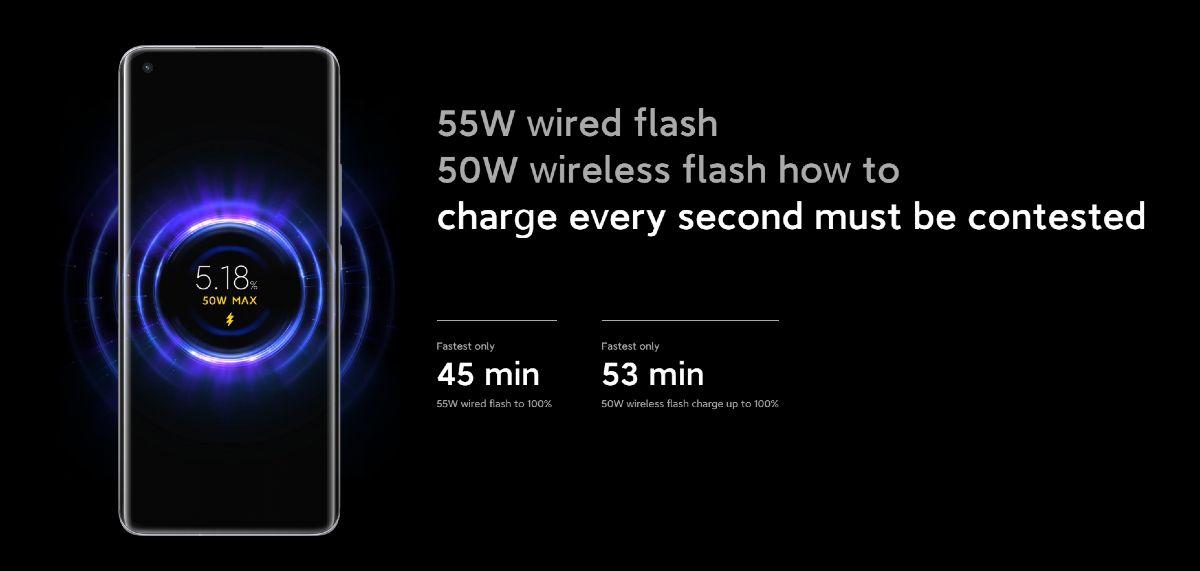Xiaomi Mi 11_rychle nabijanie