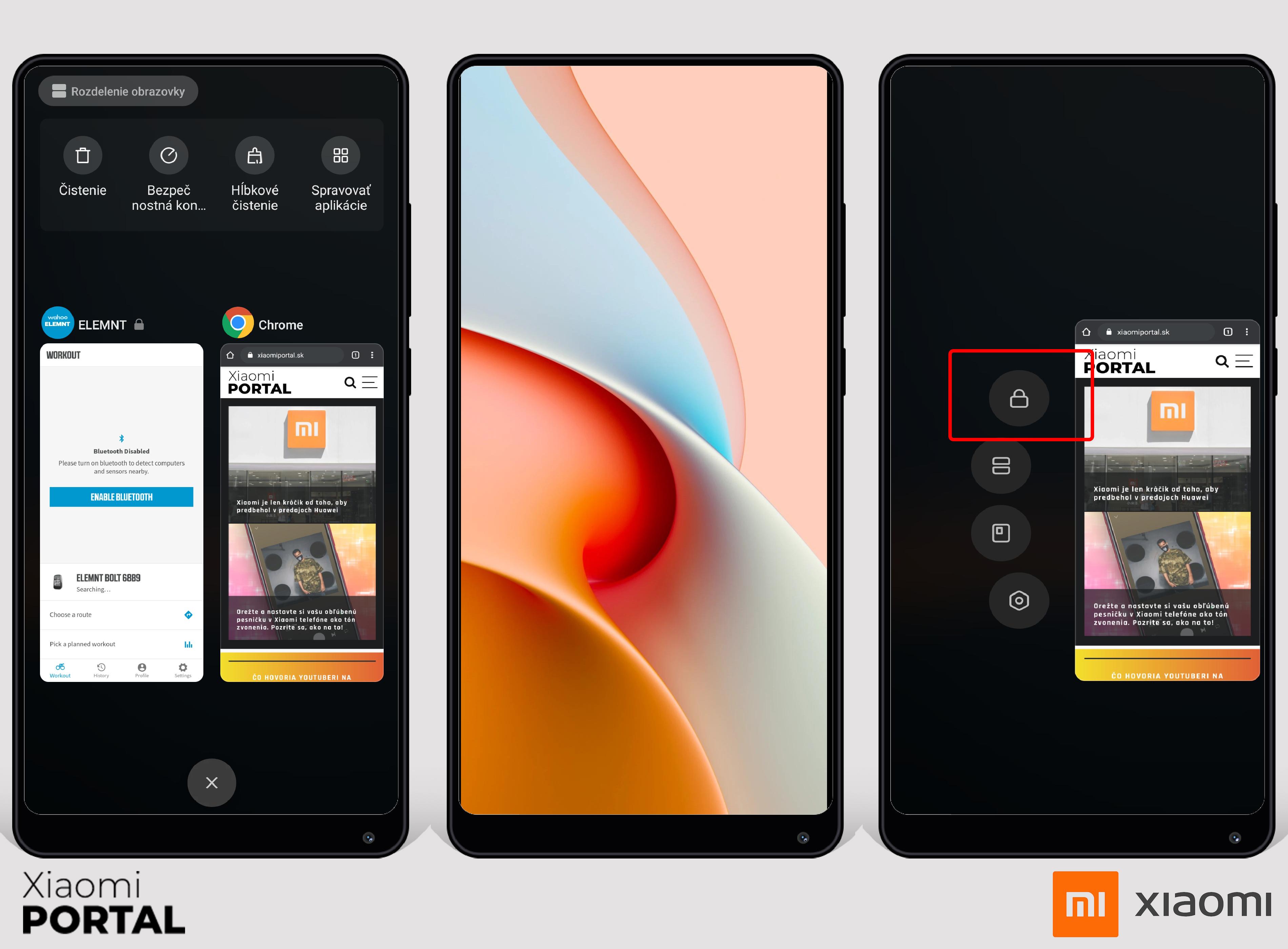 Nastavte si, aby MIUI nevypínalo aplikácie na pozadí.