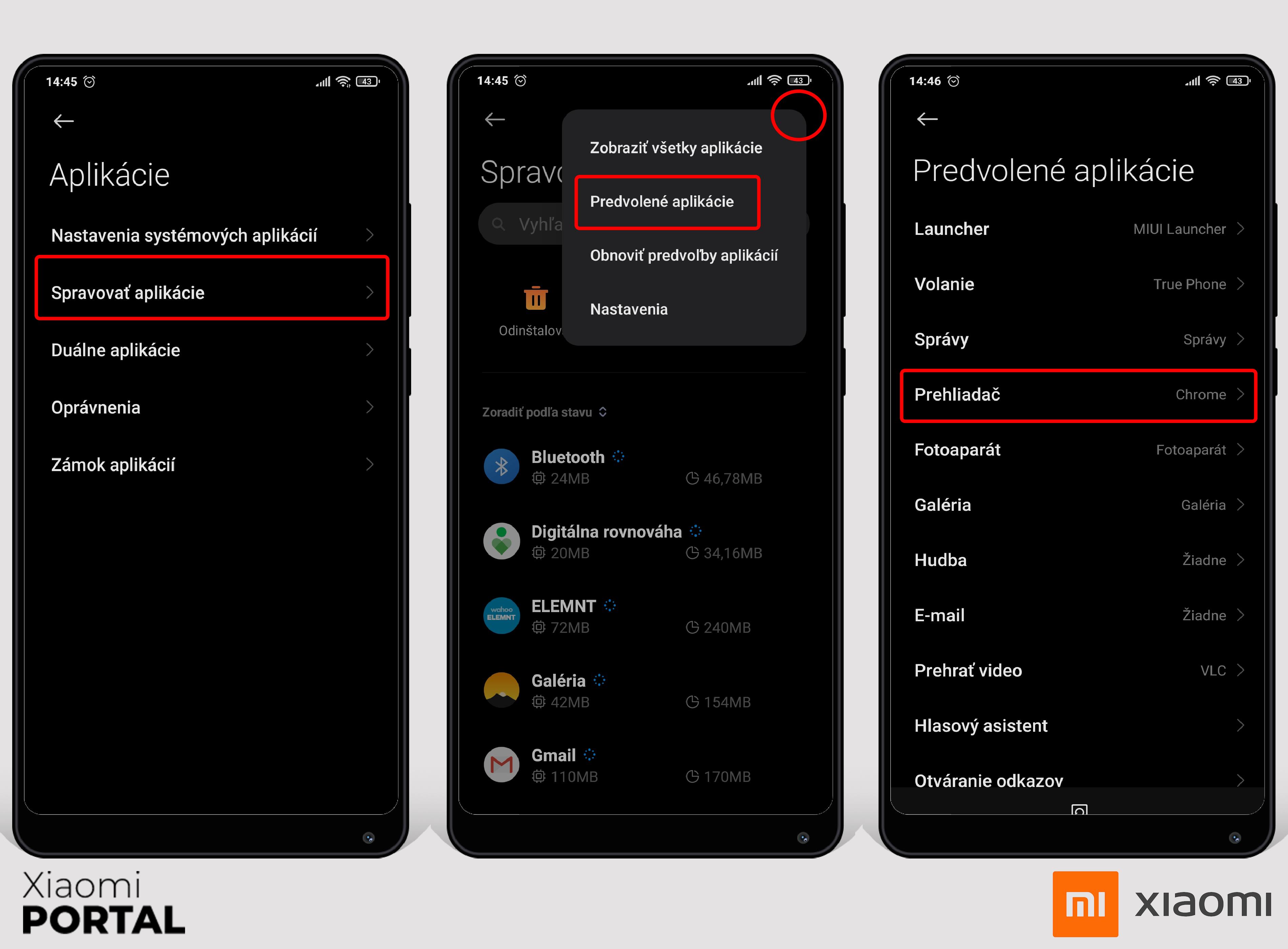 Default Xiaomi Apps