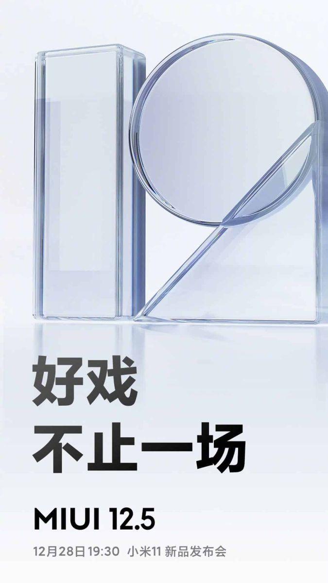 xiaomi Mi 12.5 nadstavba