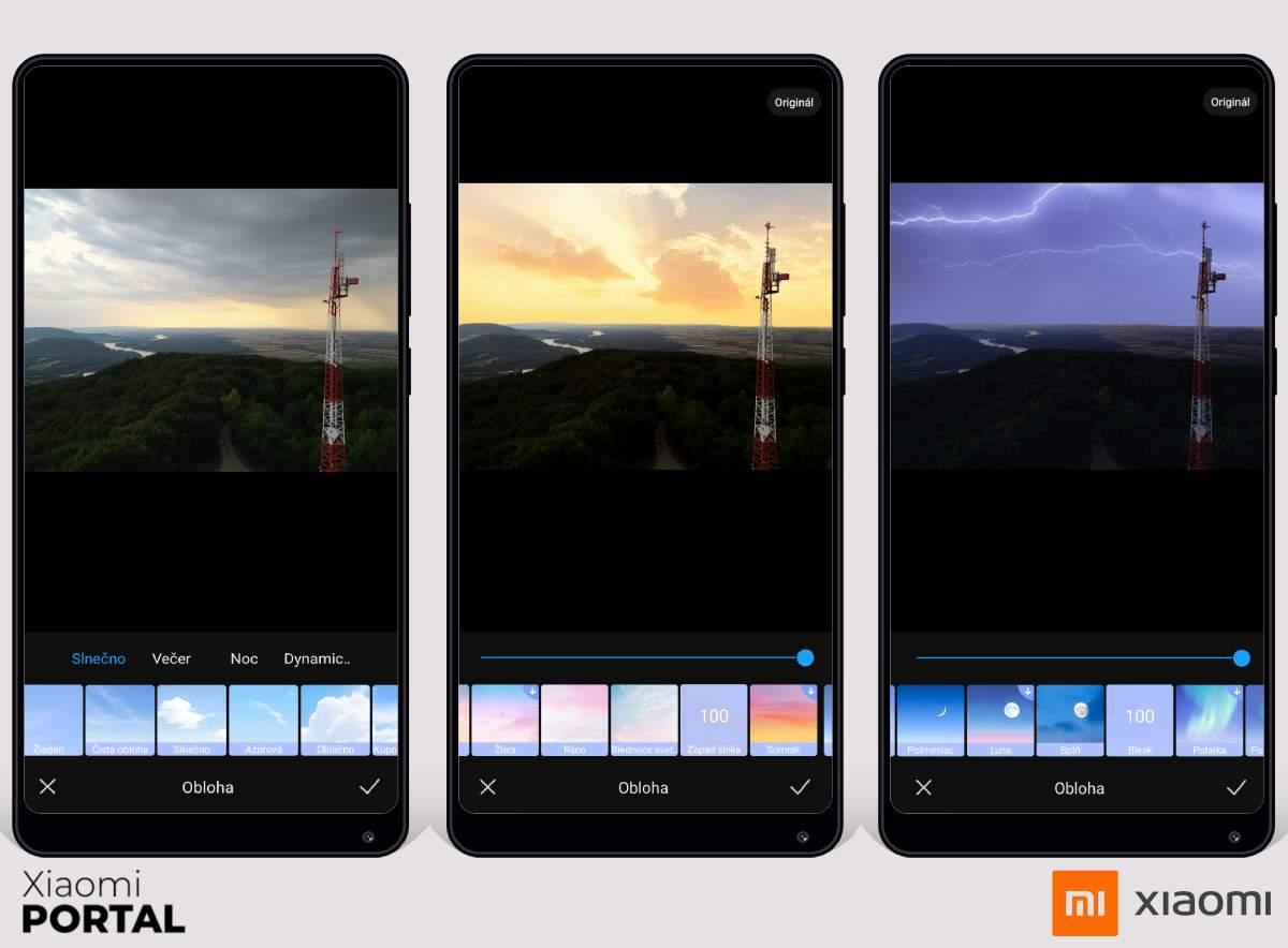 Zmeňte oblohu vo vašich fotografiách priamo v galérii telefónu.