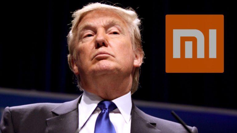 Donald Trump Xiaomi