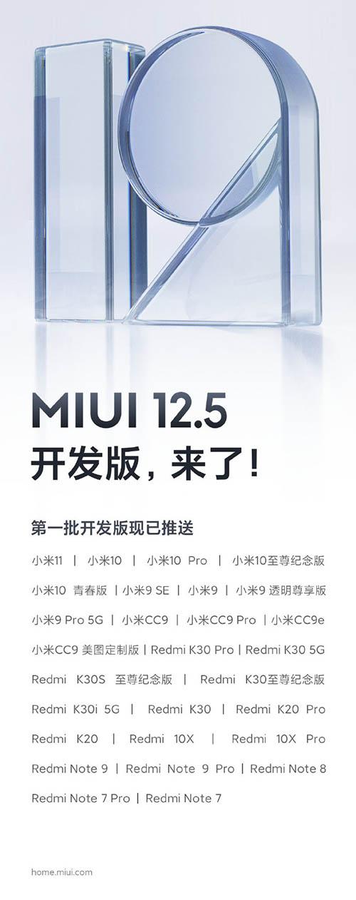 MIUI 12_zoznam podporovanych smartfonov pre cisnky trh