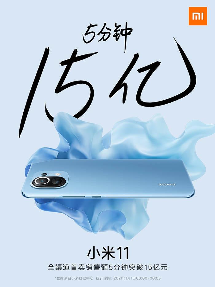 Xiaomi Mi 11_predaje