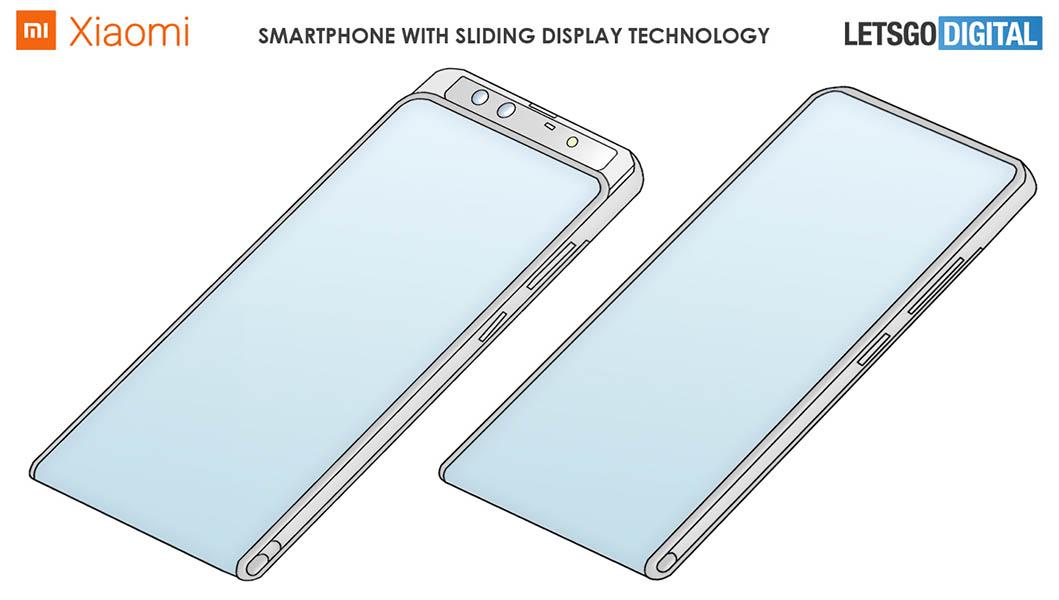 Xiaomi Mi Mix_patent zariadenie s posuvnym mechanizmom_1