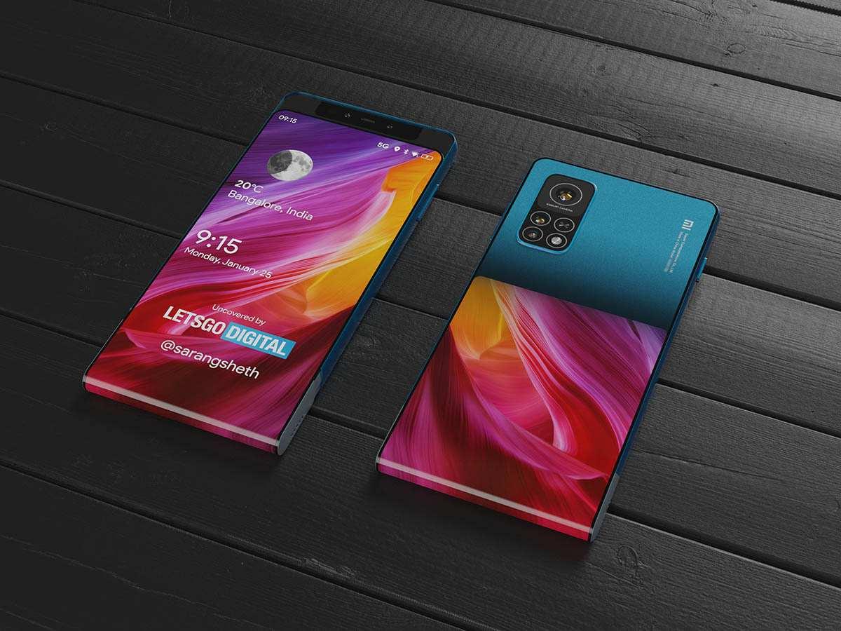 Xiaomi Mi Mix_patent zariadenie s posuvnym mechanizmom_2