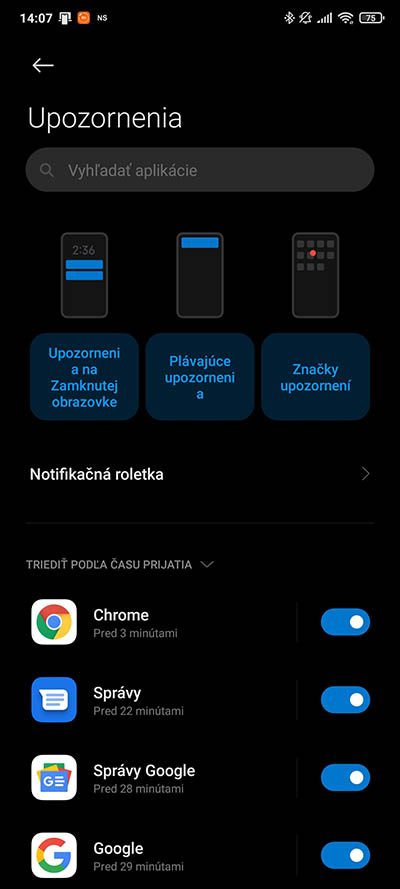 Xiaomi nastavenia upozorneni_2