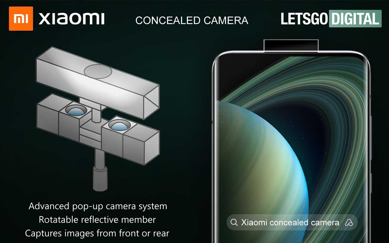 Xiaomi patent kamerovy modul so zrkadlom_2