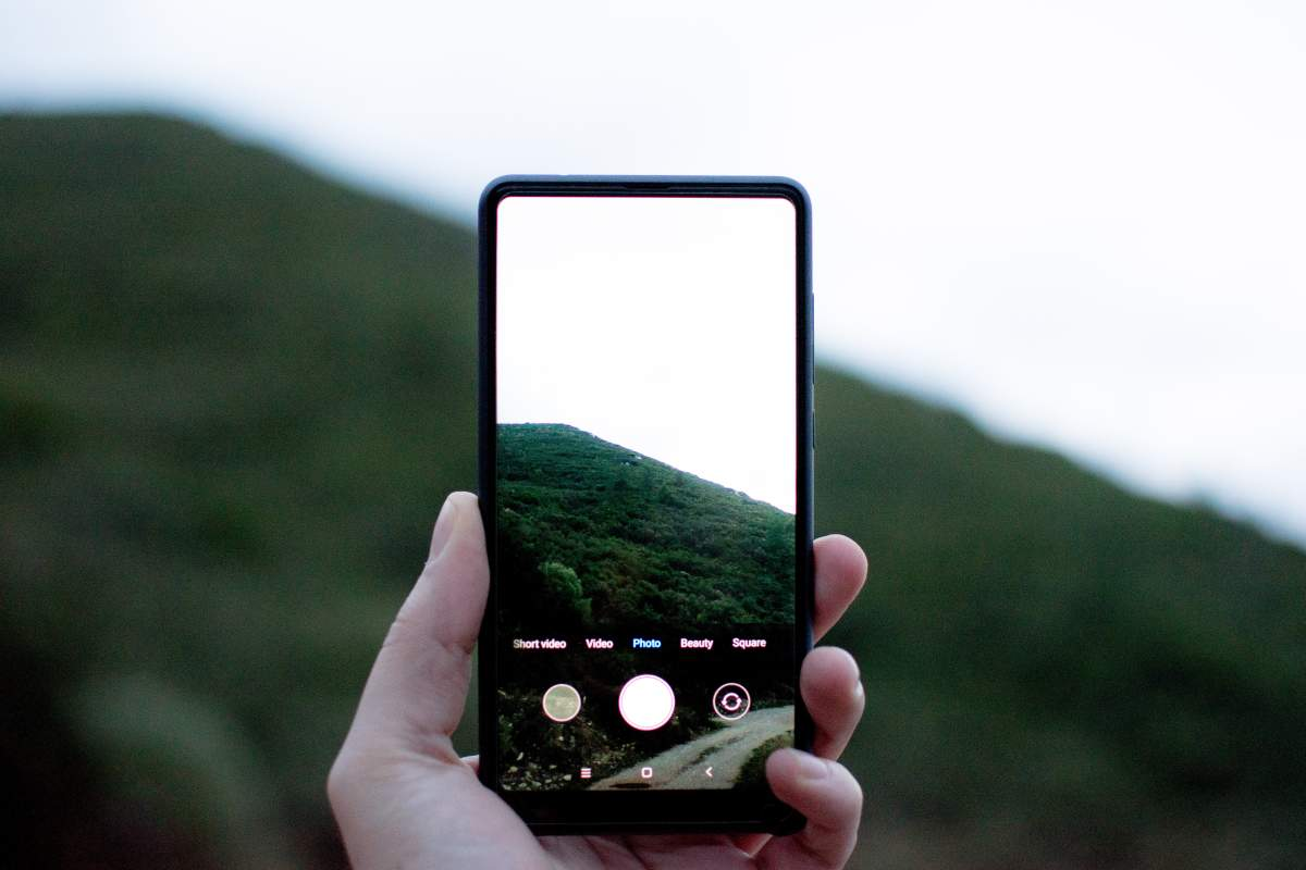 Fotografovanie s telefónom Xiaomi.