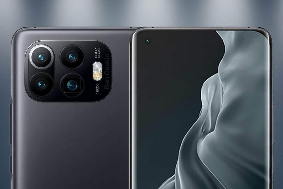 Xiaomi Mi 11 Pro render