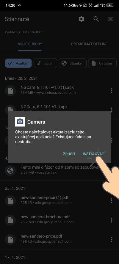 Google Kamera_novy port 8.1.101-V1.0_instalacia