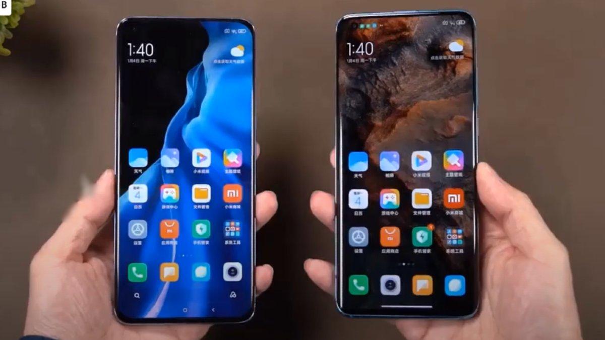 Xiaomi Mi 10 vs Xiaomi Mi 11