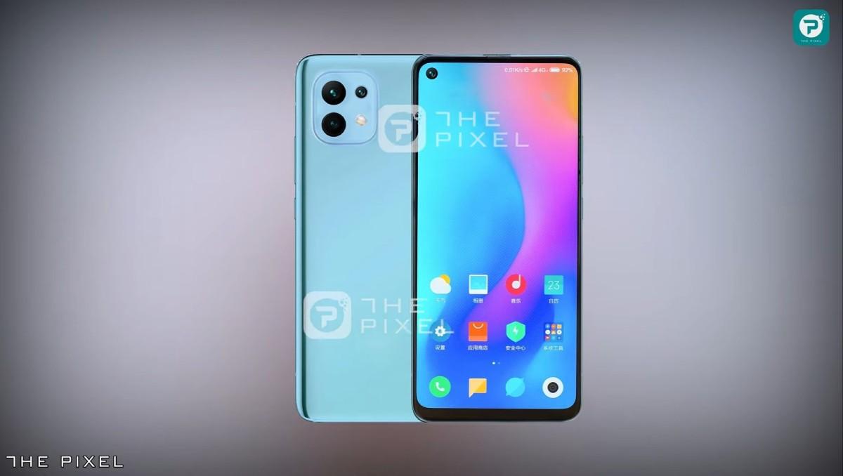 Xiaomi Mi 11 Lite_render