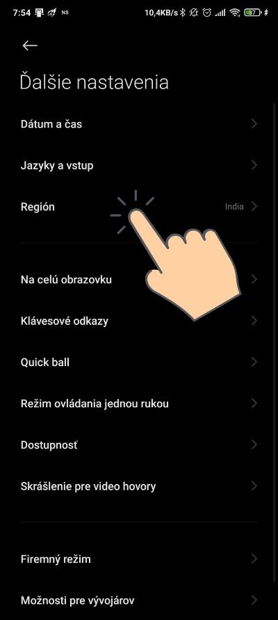 Xiaomi_ako zmenit oblast smartfonu_2