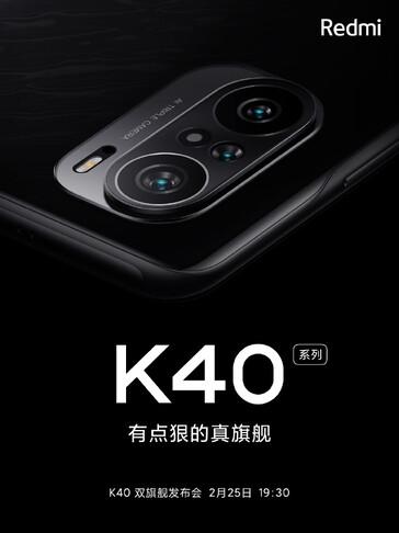 Redmi K40 teaser