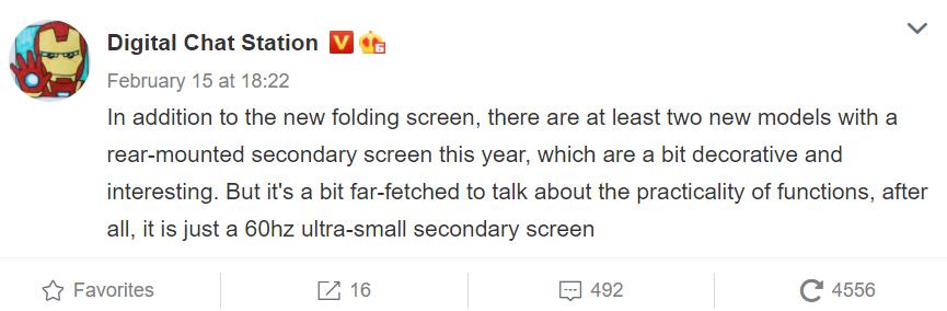 Xiaomi mi 11 ultra so sekundárnou obrazovkou. Pribudnú aj ďalšie takéto zariadenia?