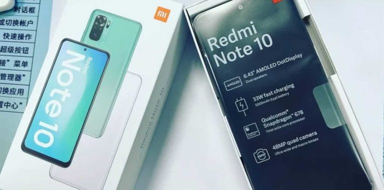 Unboxing redmi Note 10.