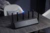 WiFi router Xiaomi Mi AIoT AX3600 je schopný dosiahnuť teoretickú rýchlosť až 2 976 Mbps. Taktiež má určenú jednu anténu špeciálne pre IoT.
