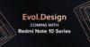 Redmi Note 10 bude pod taktom Evol dizajnu.