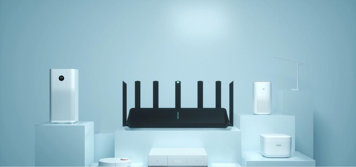 WiFi router Xiaomi Mi AIOT AX3600 zvládne obslúžiť celý ekosystém inteligentných domácich zariadení. Zdroj: Xiaomi