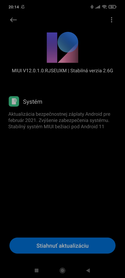 Android 11 Mi 10T Lite