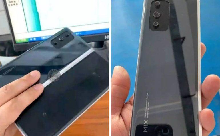 Skladatelny smartfon Xiaomi Mi Mix