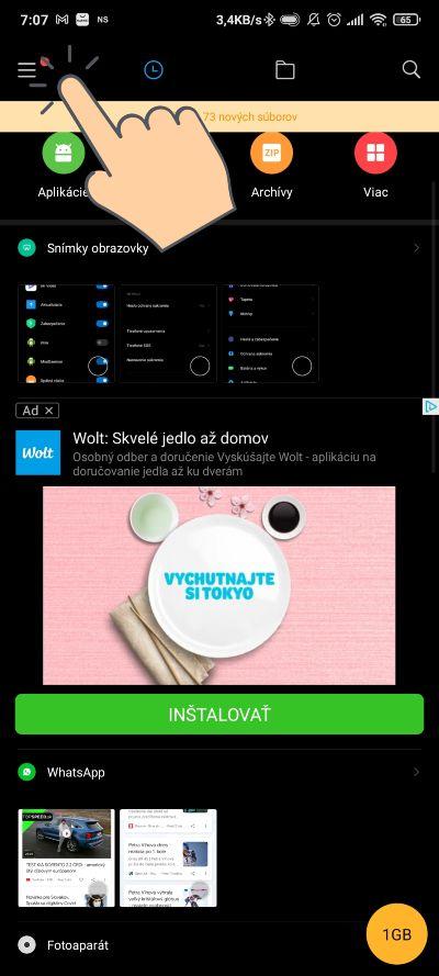 Vypnutie reklam_Xiaomi aplikacia_1