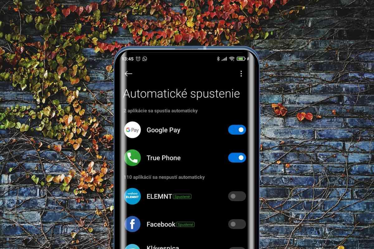 Automatické spustenie aplikácii vypnite tam kde sa dá. Dokážete tak zrýchliť chod vášho zariadenia.