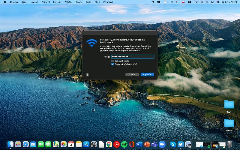 Zdieľanie ShareMe PC