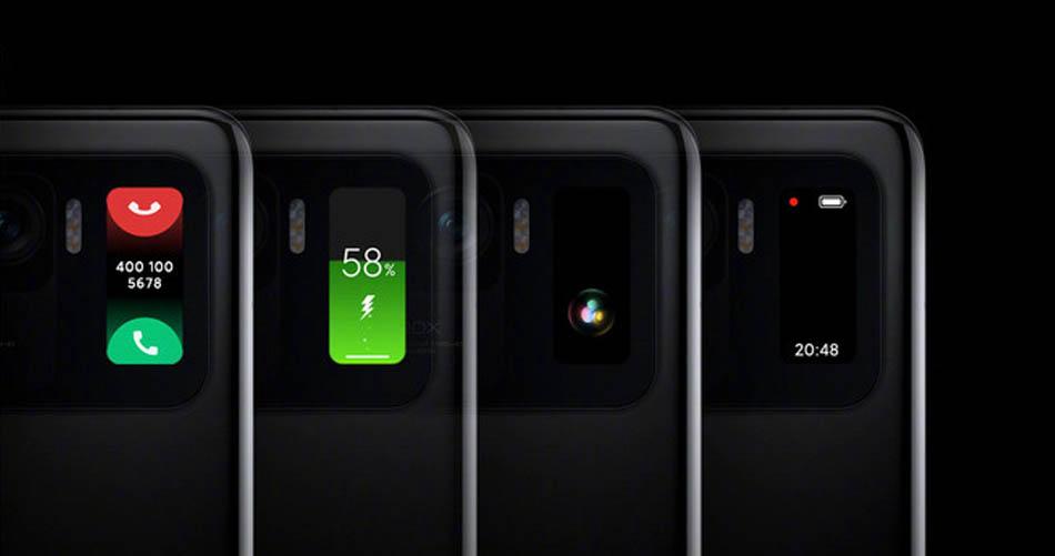 Sekundárna obrazovka v Xiaomi Mi 11 Ultra toho zvládne naozaj veľa.