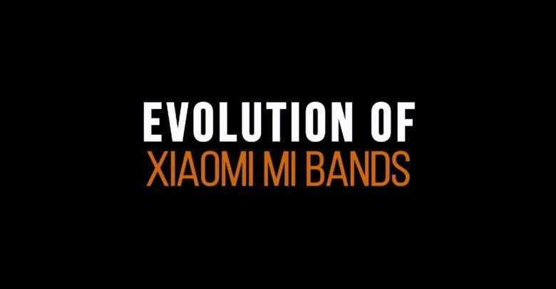 Evolucia Xiaomi Mi Band fitness naramkov